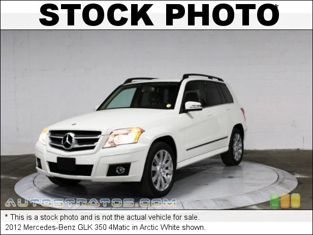 Stock photo for this 2012 Mercedes-Benz GLK 350 4Matic 3.5 Liter DOHC 24-Valve VVT V6 7 Speed Automatic