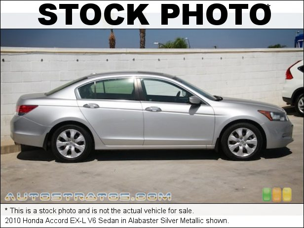 Stock photo for this 2010 Honda Accord EX-L V6 Sedan 3.5 Liter VCM DOHC 24-Valve i-VTEC V6 5 Speed Automatic