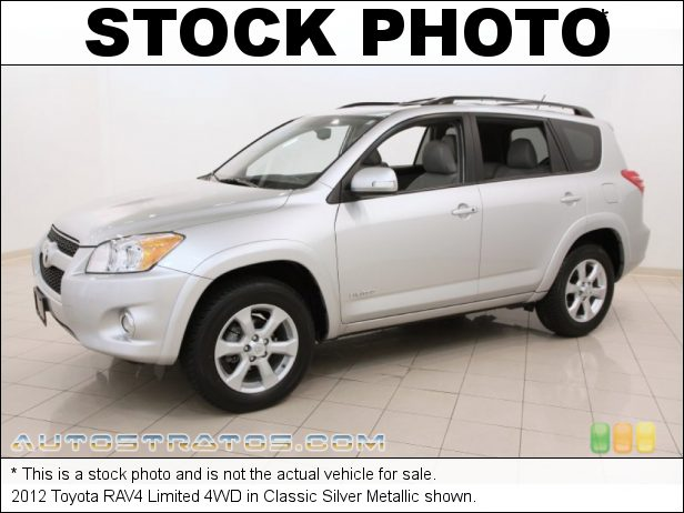 Stock photo for this 2012 Toyota RAV4 Limited 4WD 2.5 Liter DOHC 16-Valve Dual VVT-i 4 Cylinder 4 Speed ECT-i Automatic