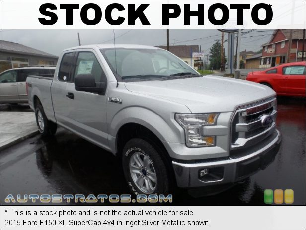 Stock photo for this 2015 Ford F150 SuperCab 4x4 3.5 Liter DOHC 24-Valve Ti-VCT FFV V6 6 Speed Automatic