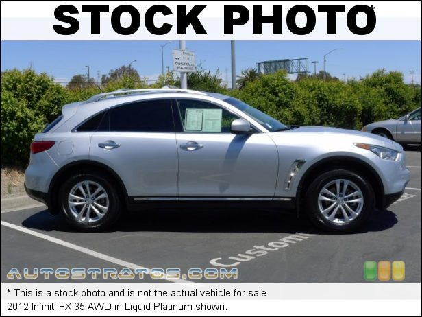 Stock photo for this 2012 Infiniti FX 35 AWD 3.5 Liter DOHC 24-Valve CVTCS V6 7 Speed ASC Automatic