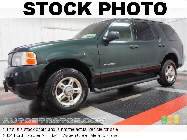 Stock photo for this 2004 Ford Explorer XLT 4x4 4.0 Liter SOHC 12-Valve V6 5 Speed Automatic