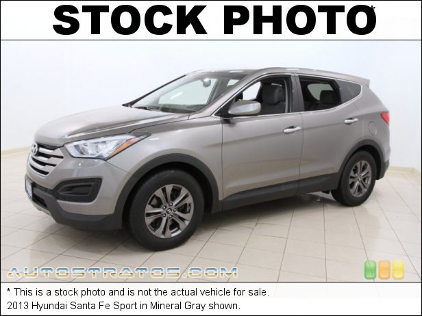 Stock photo for this 2013 Hyundai Santa Fe Sport 2.4 Liter GDi DOHC 16-Valve D-CVVT 4 Cylinder 6 Speed Shiftronic Automatic