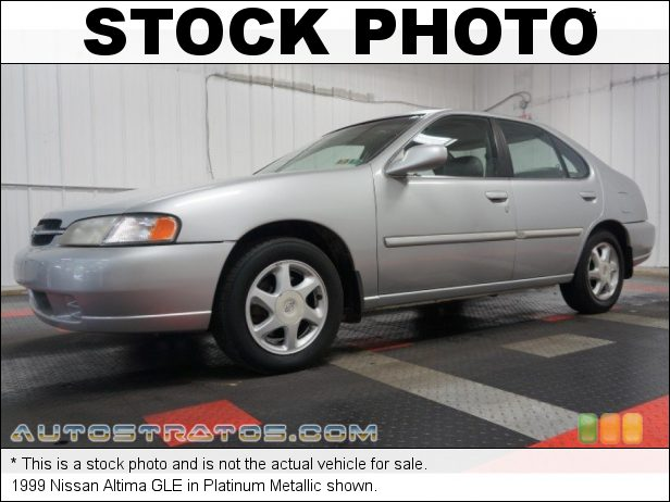 Stock photo for this 1999 Nissan Altima  2.4 Liter DOHC 16V 4 Cylinder 4 Speed Automatic