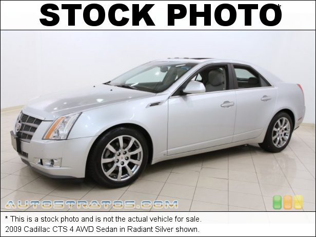Stock photo for this 2009 Cadillac CTS 4 AWD Sedan 3.6 Liter DI DOHC 24-Valve VVT V6 6 Speed Automatic