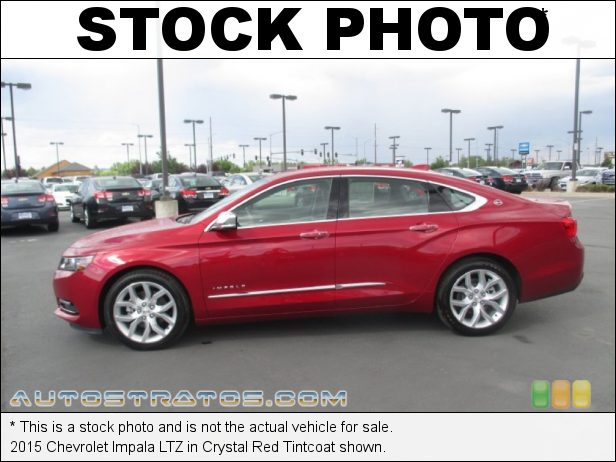 Stock photo for this 2015 Chevrolet Impala LTZ 3.6 Liter DI DOHC 24-Valve VVT V6 6 Speed Automatic