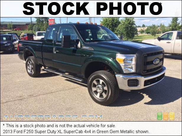 Stock photo for this 2013 Ford F250 Super Duty SuperCab 4x4 6.2 Liter Flex-Fuel SOHC 16-Valve VVT V8 TorqShift 6 Speed SelectShift Automatic