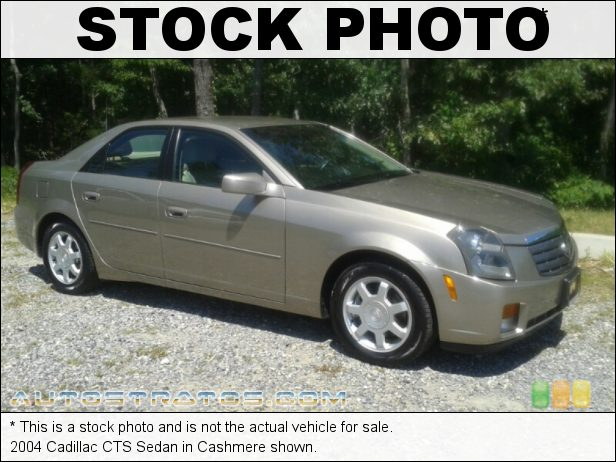 Stock photo for this 2004 Cadillac CTS Sedan 3.6 Liter DOHC 24-Valve VVT V6 5 Speed Automatic