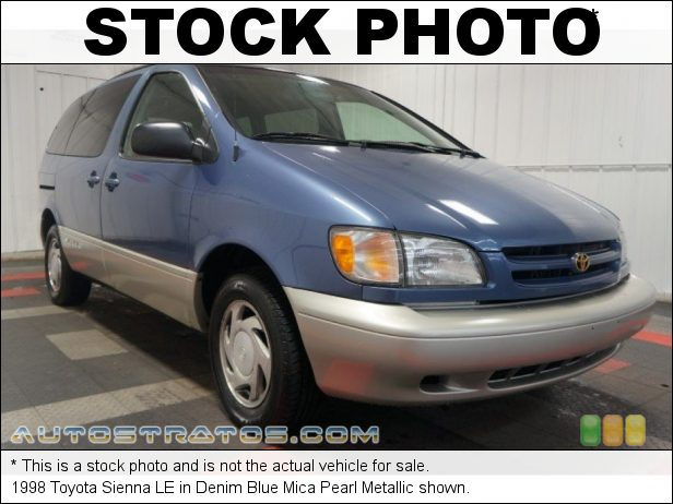 Stock photo for this 1998 Toyota Sienna  3.0 Liter DOHC 24-Valve V6 4 Speed Automatic