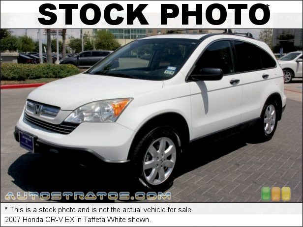 Stock photo for this 2007 Honda CR-V EX 2.4 Liter DOHC 16-Valve i-VTEC 4 Cylinder 5 Speed Automatic