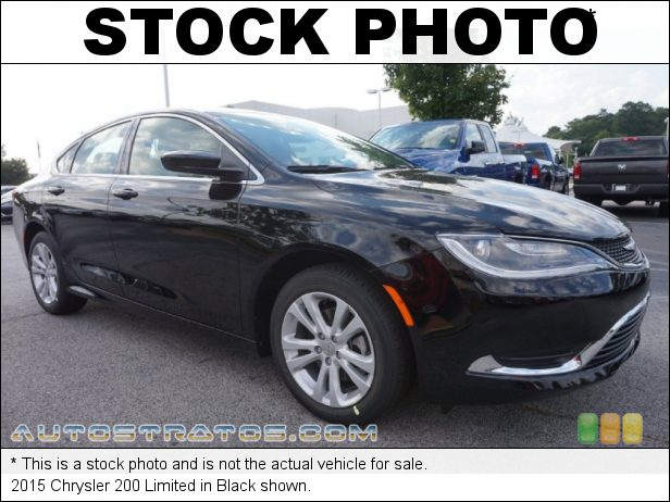 Stock photo for this 2015 Chrysler 200 Limited 2.4 Liter DOHC 16-Valve MultiAir 4 Cylinder 9 Speed Automatic