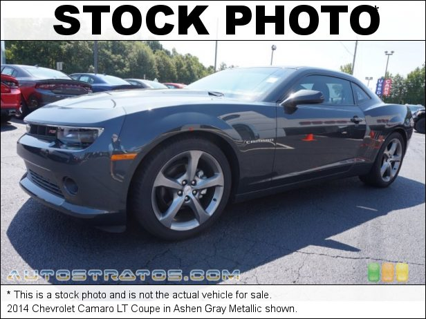 Stock photo for this 2014 Chevrolet Camaro LT Coupe 3.6 Liter DI DOHC 24-Valve VVT V6 6 Speed Automatic