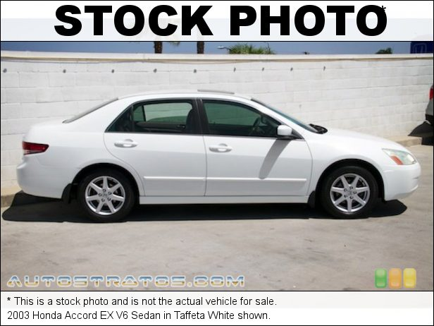 Stock photo for this 2003 Honda Accord EX V6 Sedan 3.0 Liter SOHC 24-Valve VTEC V6 5 Speed Automatic
