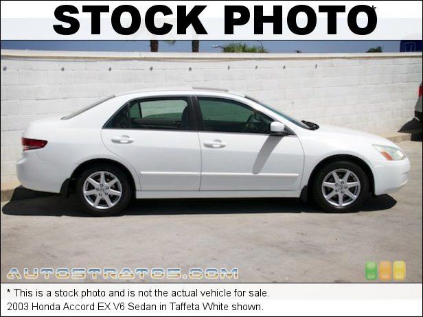 Stock photo for this 2003 Honda Accord EX V6 Sedan 3.0 Liter SOHC 24-Valve VTEC V6 5 Speed Automatic