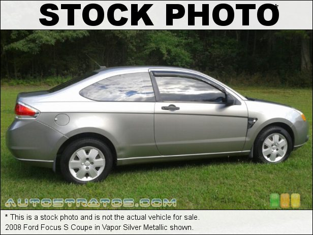 Stock photo for this 2008 Ford Focus S Coupe 2.0L DOHC 16V Duratec 4 Cylinder 5 Speed Manual