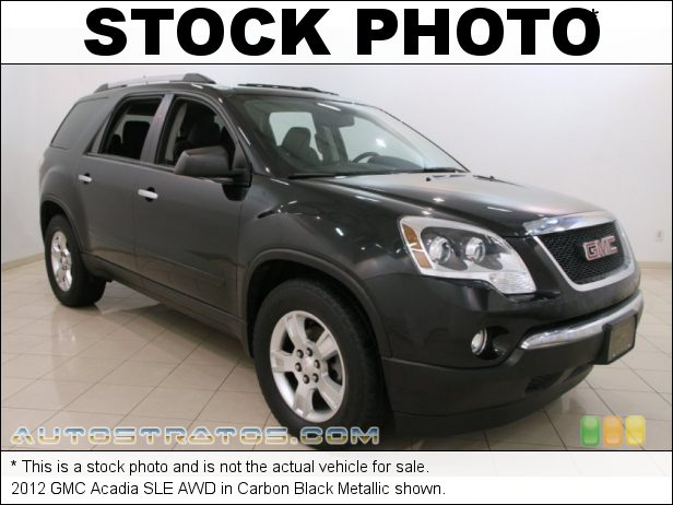 Stock photo for this 2012 GMC Acadia SLE AWD 3.6 Liter SIDI DOHC 24-Valve VVT V6 6 Speed Automatic