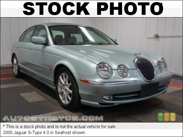 Stock photo for this 2000 Jaguar S-Type 4.0 4.0 Liter DOHC 32-Valve V8 5 Speed Automatic
