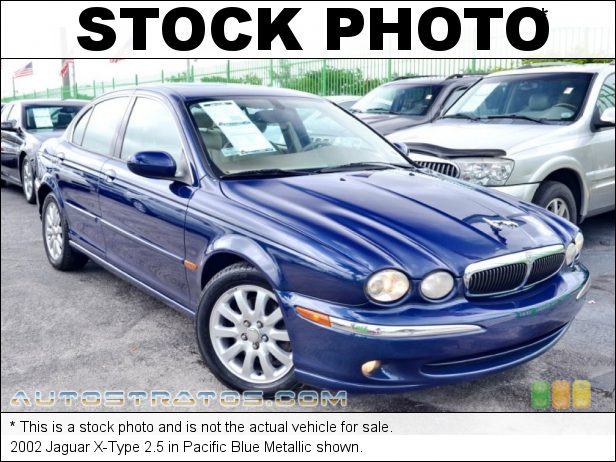 Stock photo for this 2002 Jaguar X-Type 2.5 2.5 Liter DOHC 24 Valve V6 5 Speed Automatic