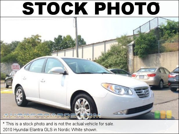 Stock photo for this 2010 Hyundai Elantra GLS 2.0 Liter DOHC 16-Valve CVVT 4 Cylinder 4 Speed Automatic