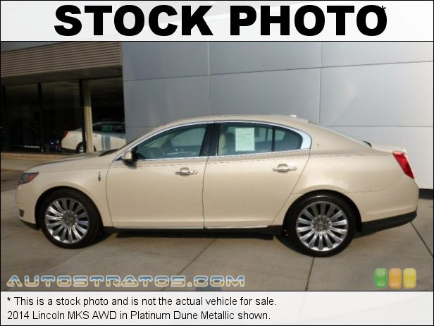 Stock photo for this 2014 Lincoln MKS AWD 3.7 Liter DOHC 24-Valve Ti-VCT V6 6 Speed SelectShift Automatic