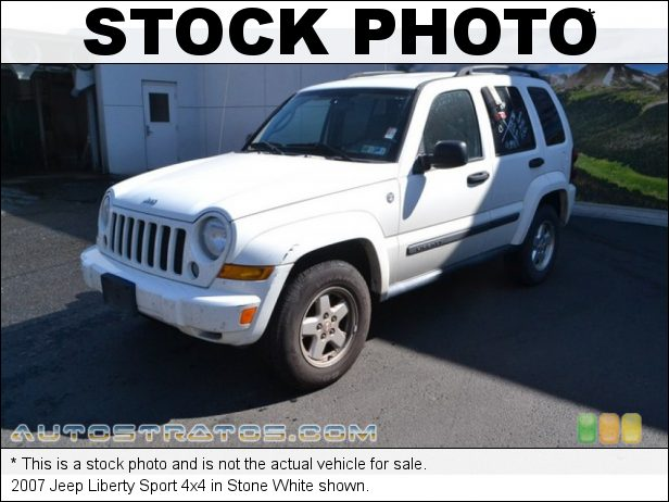 Stock photo for this 2007 Jeep Liberty Sport 4x4 3.7 Liter SOHC 12V Powertech V6 6 Speed Manual