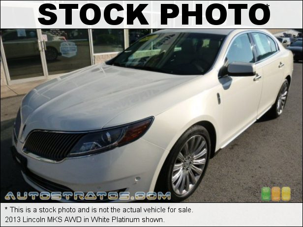 Stock photo for this 2013 Lincoln MKS AWD 3.7 Liter DOHC 24-Valve Ti-VCT V6 6 Speed SelectShift Automatic