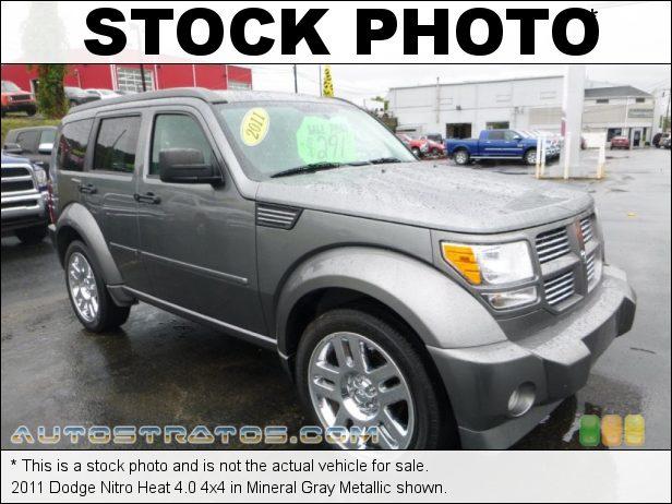 Stock photo for this 2011 Dodge Nitro Heat 4.0 4x4 4.0 Liter SOHC 24-Valve V6 5 Speed Automatic