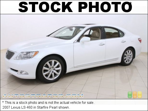 Stock photo for this 2007 Lexus LS 460 4.6 Liter DOHC 32 Valve VVT V8 8 Speed Automatic