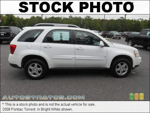Stock photo for this 2008 Pontiac Torrent  3.4 Liter OHV 12-Valve LNJ V6 5 Speed Automatic
