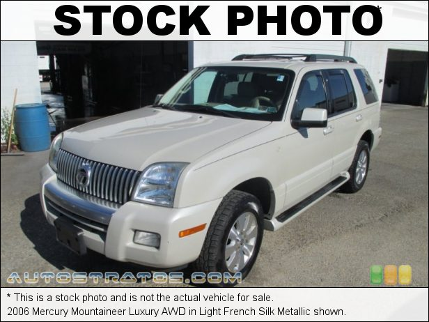 Stock photo for this 1999 Mercury Mountaineer 4WD 5.0 Liter OHV 16-Valve V8 4 Speed Automatic