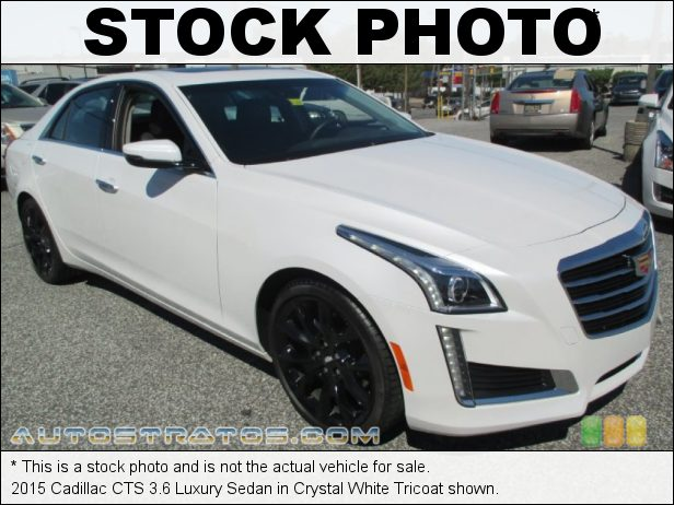 Stock photo for this 2015 Cadillac CTS 3.6 Luxury Sedan 3.6 Liter DI DOHC 24-Valve VVT V6 8 Speed Automatic