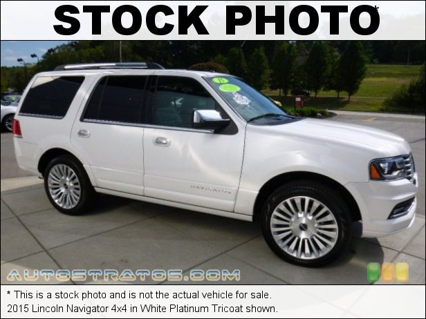 Stock photo for this 2017 Lincoln Navigator Reserve 4x4 3.5 Liter GTDI Twin-Turbocharged DOHC 16-Valve V6 6 Speed Automatic