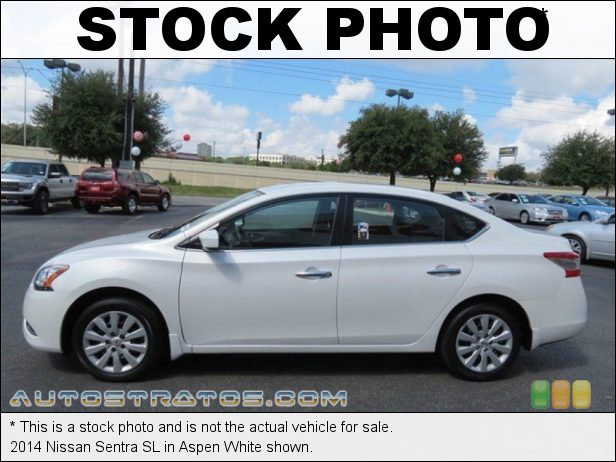 Stock photo for this 2014 Nissan Sentra  1.8 Liter DOHC 16-Valve CVTCS 4 Cylinder Xtronic CVT Automatic