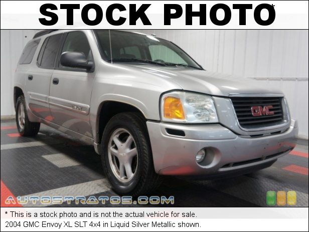 Stock photo for this 2004 GMC Envoy XL 4x4 4.2 Liter DOHC 24-Valve Inline 6 Cylinder 4 Speed Automatic