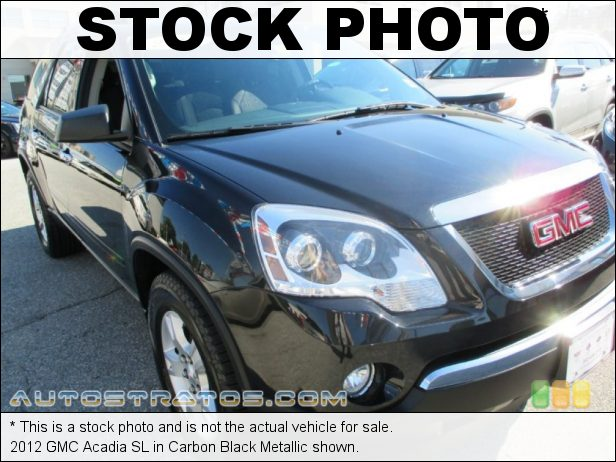 Stock photo for this 2012 GMC Acadia SL 3.6 Liter SIDI DOHC 24-Valve VVT V6 6 Speed Automatic