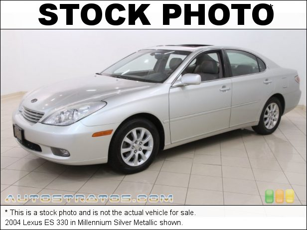 Stock photo for this 2004 Lexus ES 330 3.3 Liter DOHC 24 Valve VVT-i V6 5 Speed Automatic