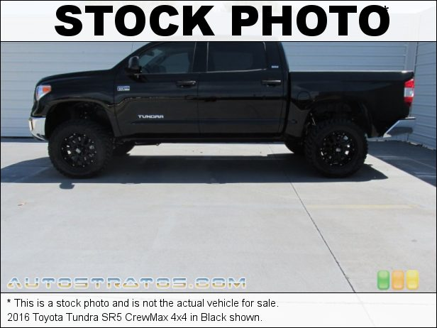 Stock photo for this 2016 Toyota Tundra CrewMax 4x4 5.7 Liter i-Force DOHC 32-Valve VVT-i V8 6 Speed ECT-i Automatic