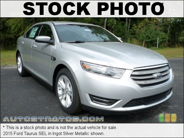 Stock photo for this 2015 Ford Taurus SEL 3.5 Liter DOHC 24-Valve Ti-VCT V6 6 Speed SelectShift Automatic