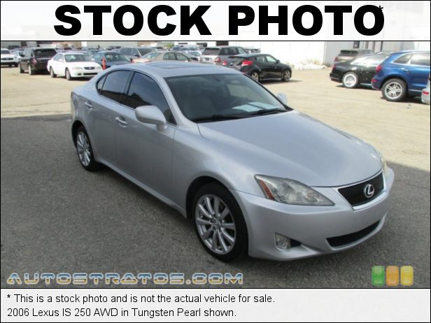 Stock photo for this 2006 Lexus IS 250 AWD 2.5 Liter DOHC 24-Valve VVT V6 6 Speed Automatic
