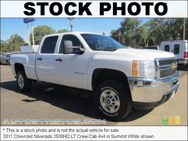 Stock photo for this 2011 Chevrolet Silverado 2500HD LT Crew Cab 4x4 6.0 Liter OHV 16-Valve VVT Vortec V8 6 Speed Automatic