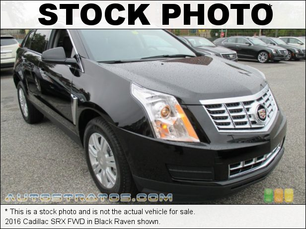 Stock photo for this 2016 Cadillac SRX FWD 3.6 Liter SIDI DOHC 24-Valve VVT V6 6 Speed Automatic