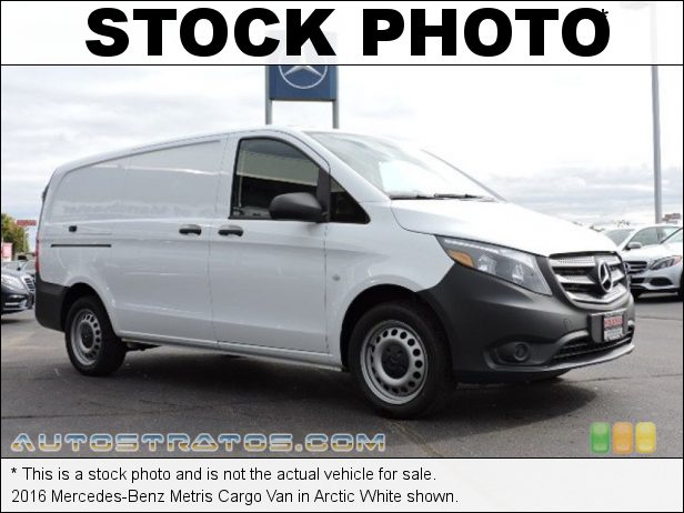 Stock photo for this 2016 Mercedes-Benz Metris Cargo Van 2.0 Liter DI Turbocharged DOHC 16-Valve 4 Cylinder 7 Speed Automatic