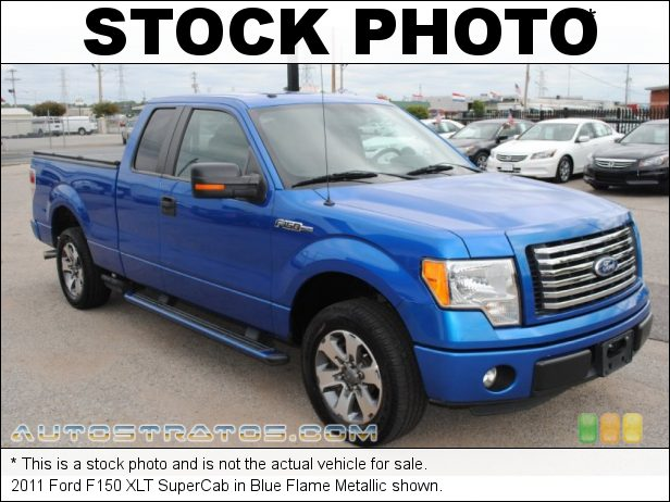 Stock photo for this 2011 Ford F150 SuperCab 3.7 Liter Flex-Fuel DOHC 24-Valve Ti-VCT V6 6 Speed Automatic