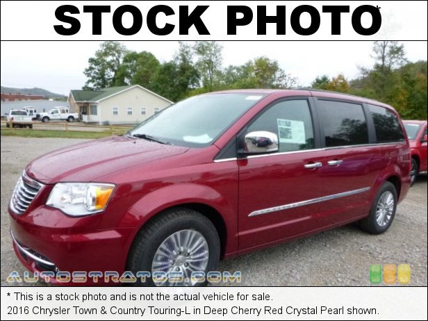 Stock photo for this 2016 Chrysler Town & Country Touring-L 3.6 Liter DOHC 24-Valve VVT Pentastar V6 6 Speed Automatic
