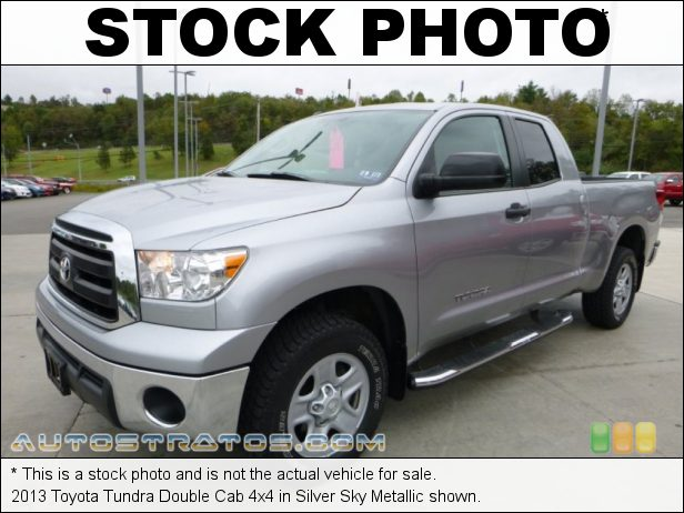 Stock photo for this 2013 Toyota Tundra Double Cab 4x4 4.6 Liter DOHC 32-Valve Dual VVT-i V8 6 Speed ECT-i Automatic