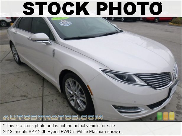 Stock photo for this 2013 Lincoln MKZ 2.0L Hybrid FWD 2.0 Liter Atkinson-Cycle DOHC 16-Valve iVCT 4 Cylinder Gasoline/ e-CVT Automatic