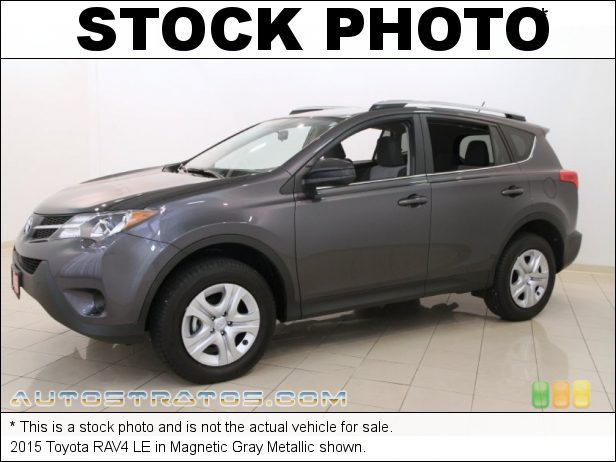 Stock photo for this 2015 Toyota RAV4 LE AWD 2.5 Liter DOHC 16-Valve Dual VVT-i 4-Cylinder 6 Speed ECT-i Automatic