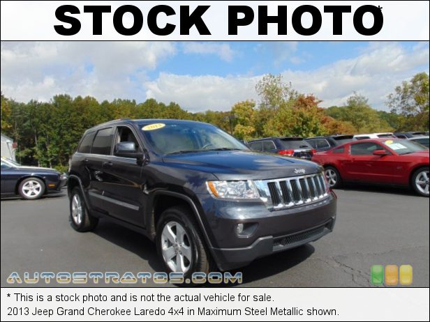 Stock photo for this 2013 Jeep Grand Cherokee 4x4 3.6 Liter DOHC 24-Valve VVT Pentastar V6 5 Speed Automatic