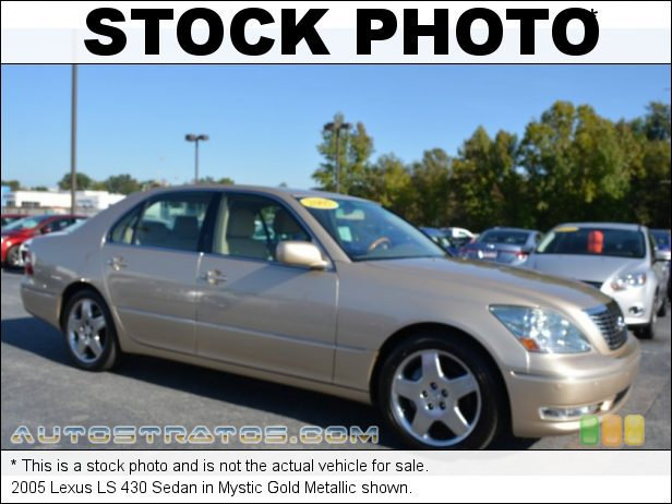 Stock photo for this 2005 Lexus LS 430 Sedan 4.3 Liter DOHC 32-Valve VVT-i V8 6 Speed Automatic