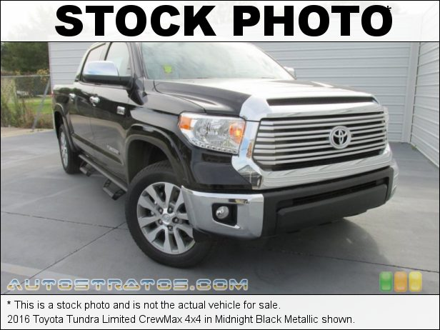 Stock photo for this 2016 Toyota Tundra Limited CrewMax 4x4 5.7 Liter i-Force DOHC 32-Valve VVT-i V8 6 Speed ECT-i Automatic